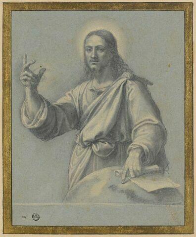 Le Christ en Salvator Mundi