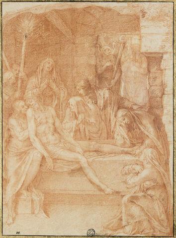 Le Christ mort déposé sur la pierre de l'onction