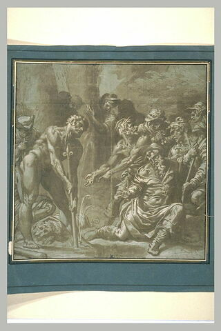 Hercule faisant jaillir une source