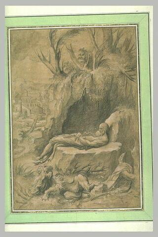 Mort de saint Jérôme