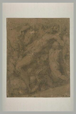 Le Christ mort soutenu par les anges