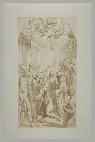 Le martyre de sainte Justine