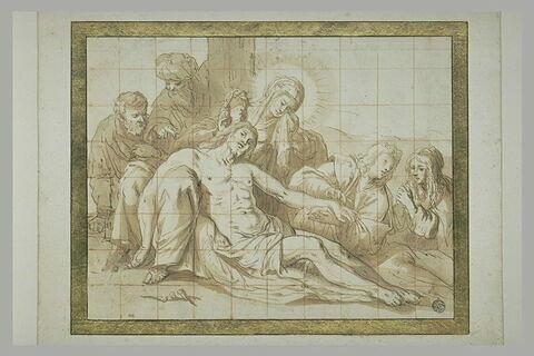 La Déploration du Christ mort