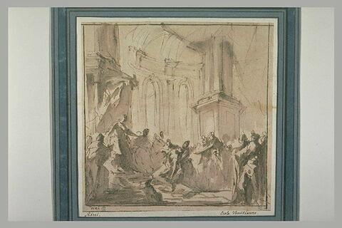 L'évanouissement d'Esther devant Assuérus