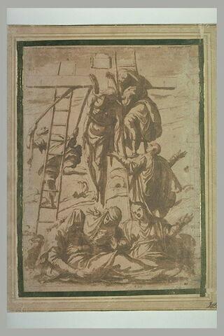 Le Christ descendu de la Croix et la Vierge évanouie