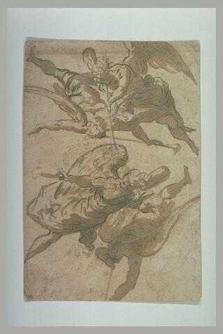 Quatre anges soufflant de la trompette
