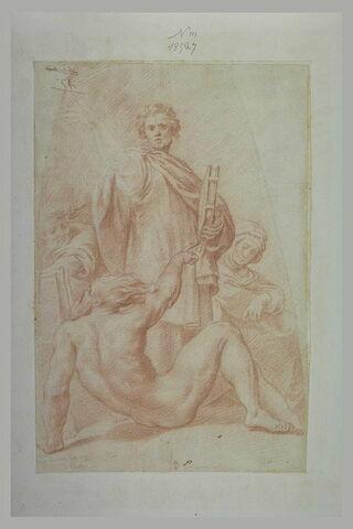 Prophète et sibylle de la coupole Santa Maria de Campagna