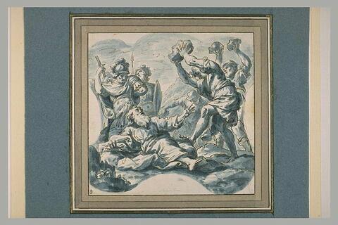 Lapidation de saint Etienne