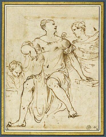 Lucrèce se donnant la mort