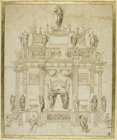 Projet de monument funéraire