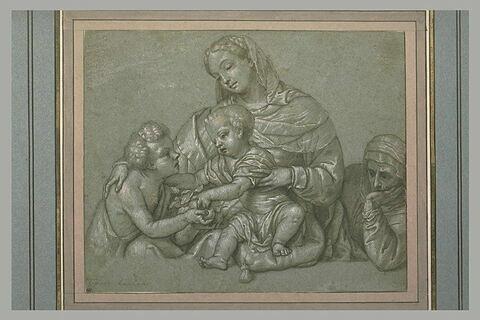 Sainte Elisabeth, la Vierge, l'Enfant Jésus jouant avec le jeune saint Jean