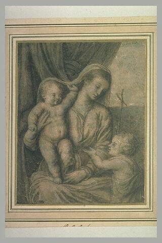 Vierge à l'Enfant avec saint le petit saint Jean