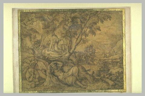 Jésus dans le Jardin des oliviers