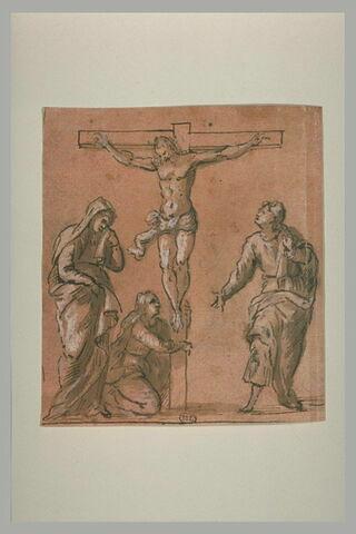Les Saintes Femmes et saint Jean au pied de la Croix