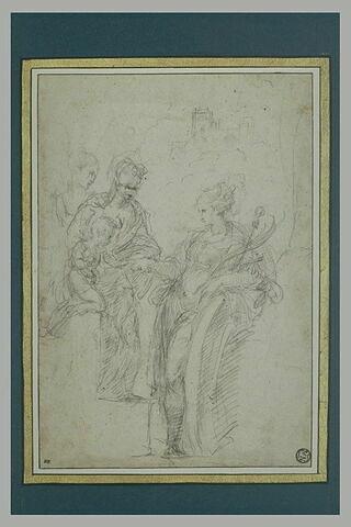 Mariage de sainte Catherine d'Alexandrie