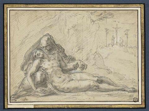 Pietà avec le Calvaire