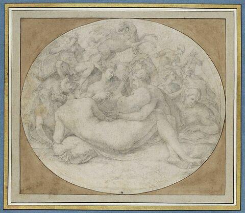 Apollon et les Muses sur le Parnasse, dit aussi La Musique