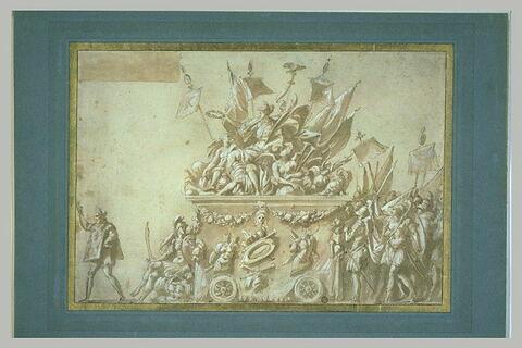 Allégorie de la Victoire en l'honneur de Charles IX