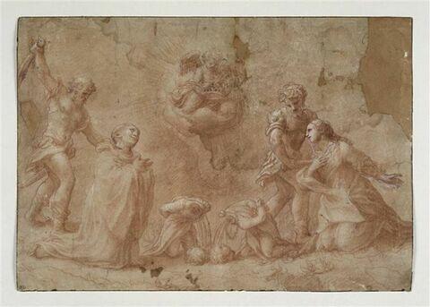 Martyre de saint Placide, sainte Flavie, saint Eutychien et saint Victorin