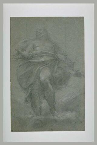 Christ en gloire sur des nuées