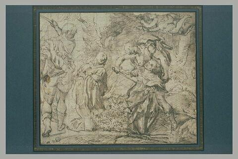 Martyre de saint Placide, sainte Flavie, saint Victorin et saint Eutychien
