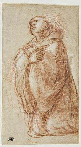 Saint Placide à genoux
