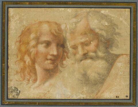 Saint Jean (ou saint André) et saint Pierre
