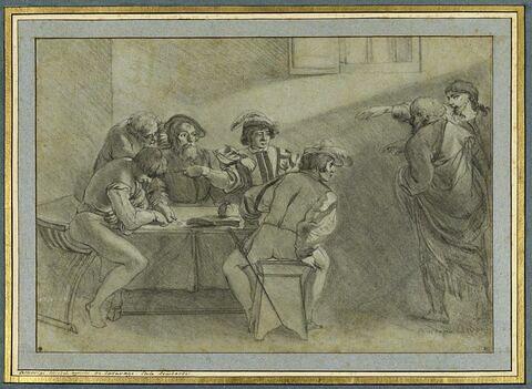 Vocation de saint Mathieu