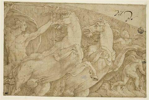 Apollon conduisant le char du soleil