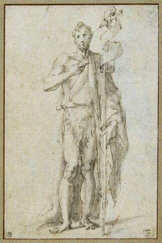 Saint Jean Baptiste, debout, vu de face