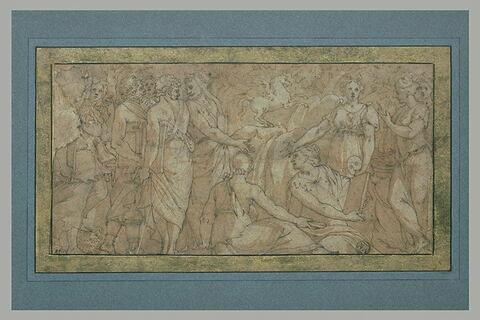 Les Muses et les Poètes sur l'Hélicon