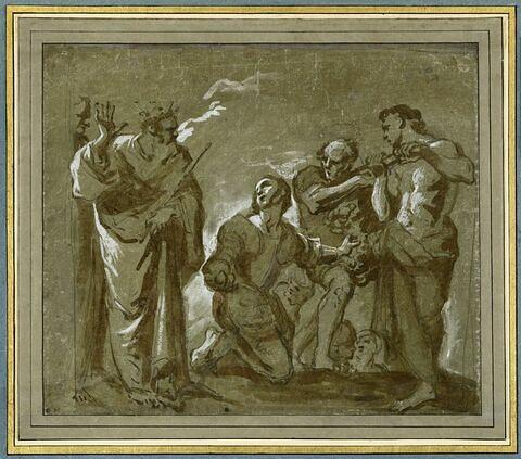 Moïse et les espions revenant de la terre promise
