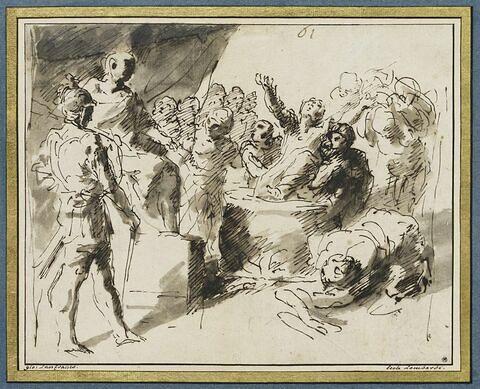 Le martyre de saint Jean l'Evangéliste