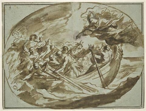 Saint Nicolas calmants les flots