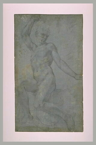 Etude pour saint Michel terrassant le Démon