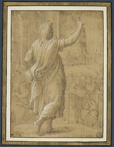 Saint Jean l'Évangéliste prêchant