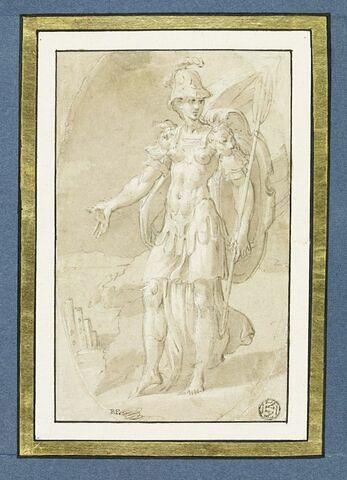 Athéna jette la flûte de Pan