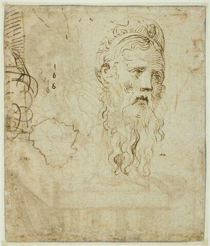 Portrait de Galeazzo Sanvitale, comte de Fontanellato, et début de notation musicale