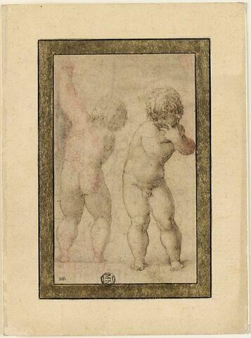 Deux enfants nus