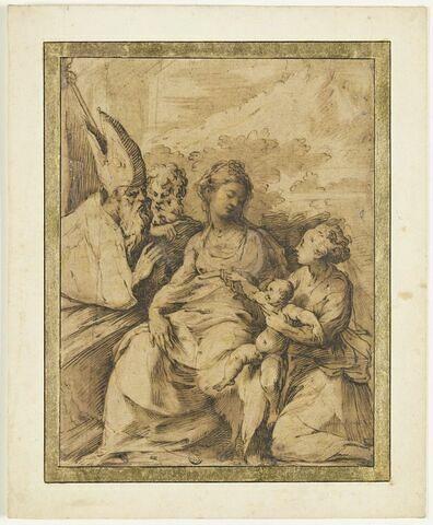 La Vierge à l'Enfant avec saint Pétrone, saint Jérôme et sainte Marguerite
