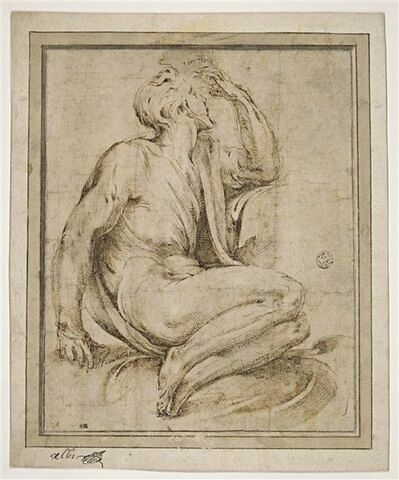 Jeune Homme assis