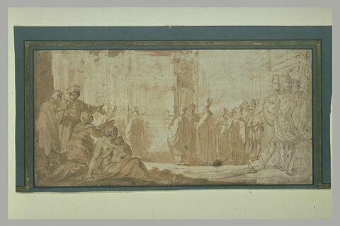 Saint Charles Borromée transportant le reliques des saints Nazaro et Celso