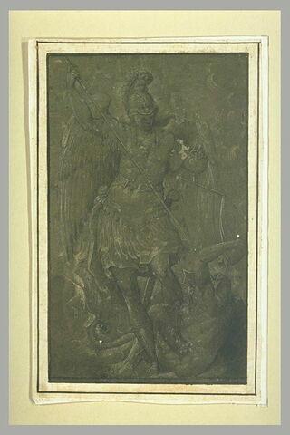 L'ange saint Michel pesant les âmes