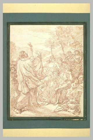 Prédication de saint Philippe de Néri