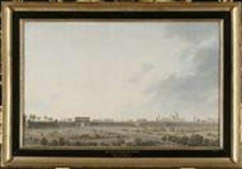 Vue de la ville de Milan le 15 mai 1796