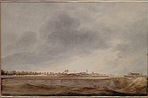 Entrée de la division Masséna dans la ville de Bene le 24 avril 1796