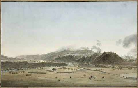 Vue de Voltri le 10 avril 1796