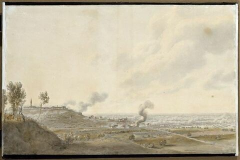 Vue de Casteggio le 8 juin 1800