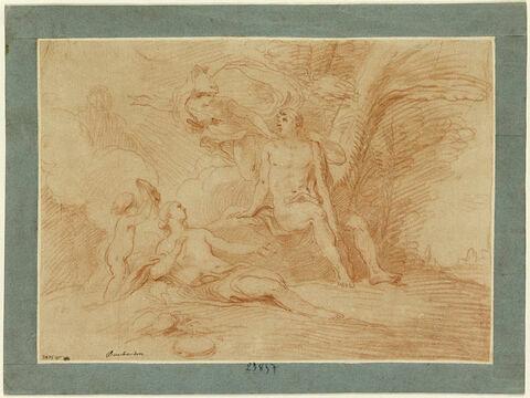 Hercule entre le Vice et la Vertu (Vénus et Minerve)