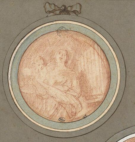 Sainte Cécile chantant